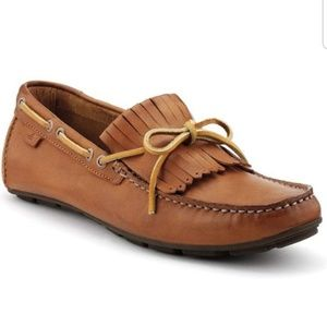 Sperry top-sider wave driver kiltie leather loafer
